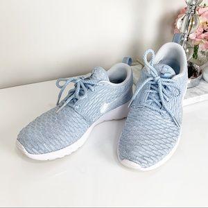 Nike Roshe One Flyknit Sky Blue
